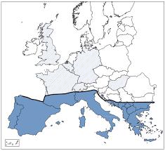 mappa leishmania